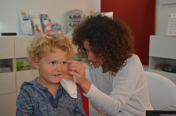 Herstellung eines individuellen Gehörschutzes – Schritt 2, Hörtechnik Fritz